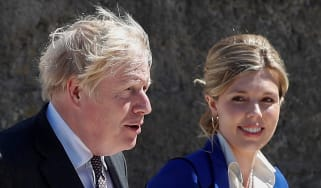 The Johnsons at the G7 summit in Cornwall in June