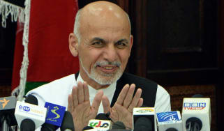 Afghanistan's new president Ashraf Ghani