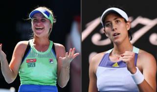 Sofia Kenin will play Garbine Muguruza in the Australian Open women's singles final