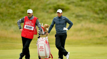 JP Fitzgerald and Rory McIlroy