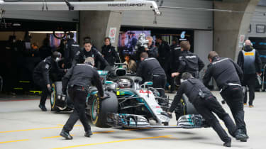 Mercedes Formula 1 team