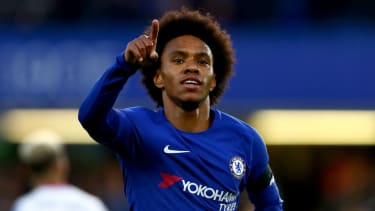 Chelsea star Willian is linked with a move away from Stamford Bridge