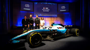 ROKiT Williams Racing unveiled their 2019 F1 car, the FW42, on 11 February