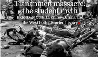 Tiananmen Square myth