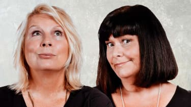 Jennifer Saunders and Dawn French: light relief and silliness