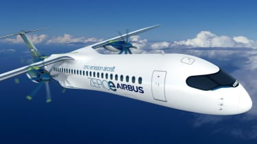 Airbus Turboprop ZEROe concept aircraft