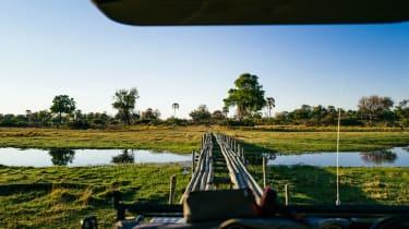 Okavango Delta bridge