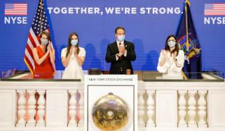 New York Stock Exchange reopens