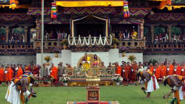 King Jigme Khesar Namgyel Wangchuck and Queen Ashi Jetsun Pema Wangchuck of Bhutan