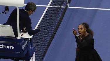 Serena Williams US Open final Carlos Ramos