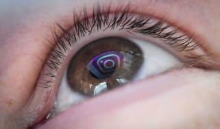 Instagram eye