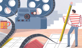 Richard Morrison on film sequences, illustration by Michael Driver