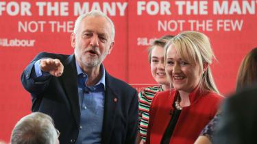 Jeremy Corbyn and Rebecca Long-Bailey