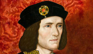 Painting of Richard III displayed in the London's The National Portrait Gallery