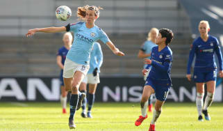 Manchester City drew 2-2 with Chelsea in the FA Women's Super League in February