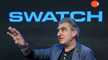 Swiss watchmaker Swatch Group CEO Nick Hayek