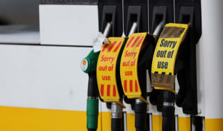 Out of use petrol pumps