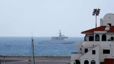 Spanish Warship