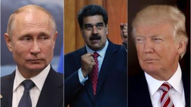 Venezuela, Russia, Trump, Putin, US, Maduro
