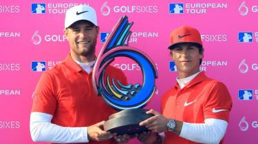 GolfSixes 2018 format tee times teams players European Tour golf