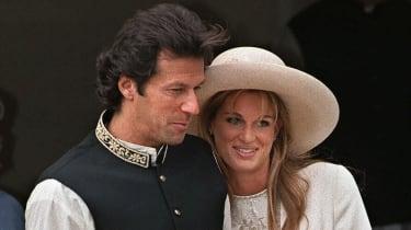 Imran Khan and Jemima Goldsmith