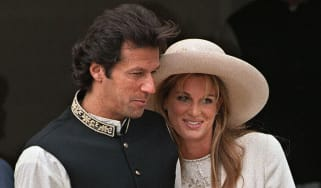 Imran Khan and Jemima Goldsmith