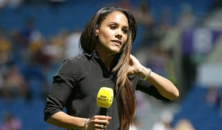 Ex-Arsenal Ladies and England footballer Alex Scott is a pundit for BBC Sport and Sky Sports