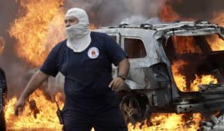 Mexico drug protests