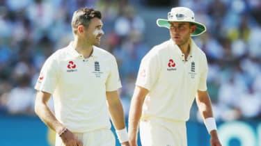 James Anderson Stuart Broad England cricket
