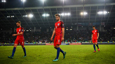 England red football kit